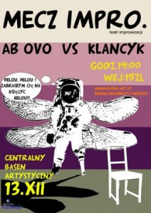 Mecz Improv: Ab Ovo vs Klancyk!