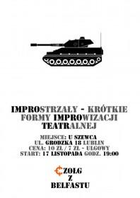 Czołg z Belfastu w Lublinie