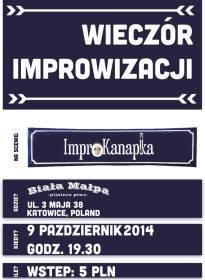 Zaproszenie na Improkanapkę