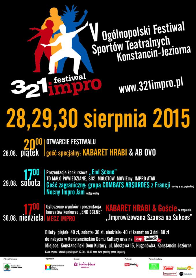 Festiwal 3dwa1 impro