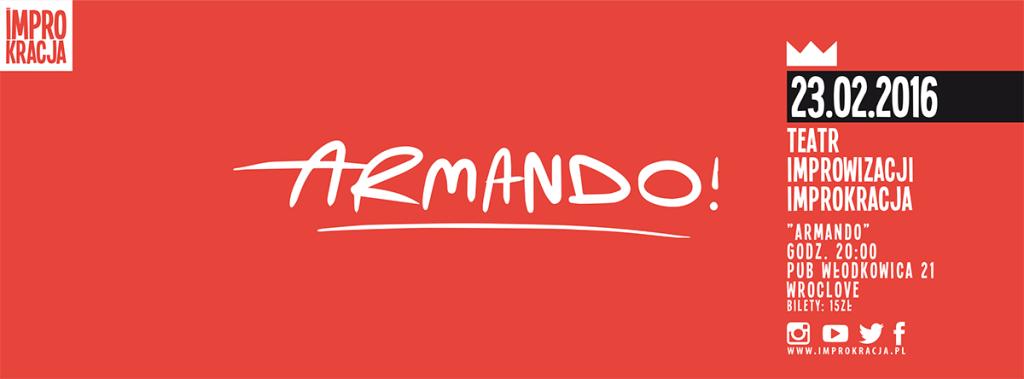 Improkracja Armando baner